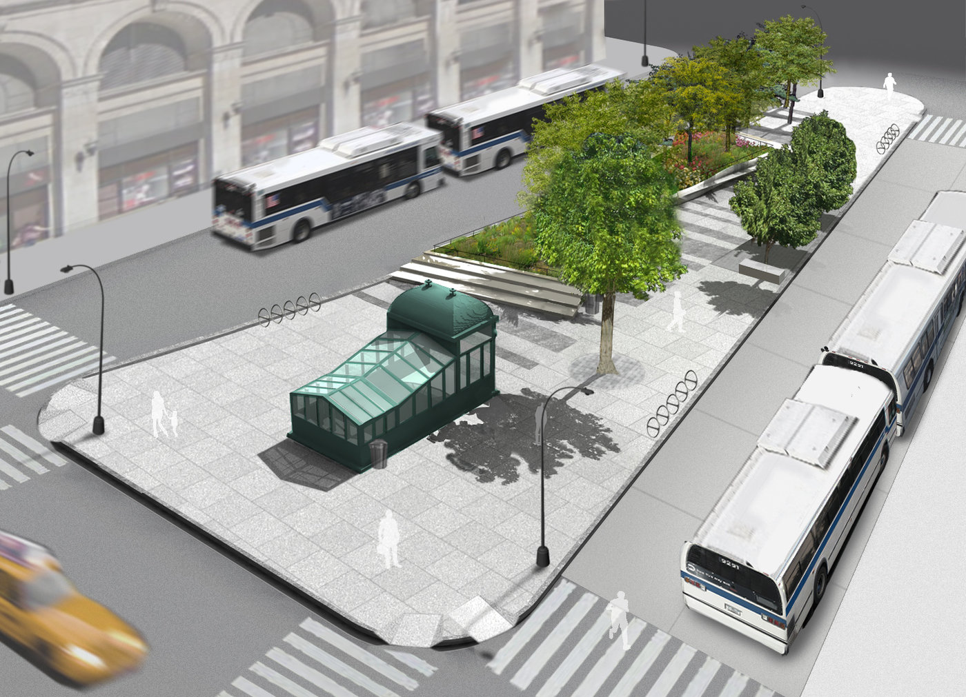 The Reconstruction of Astor Place & Cooper Square