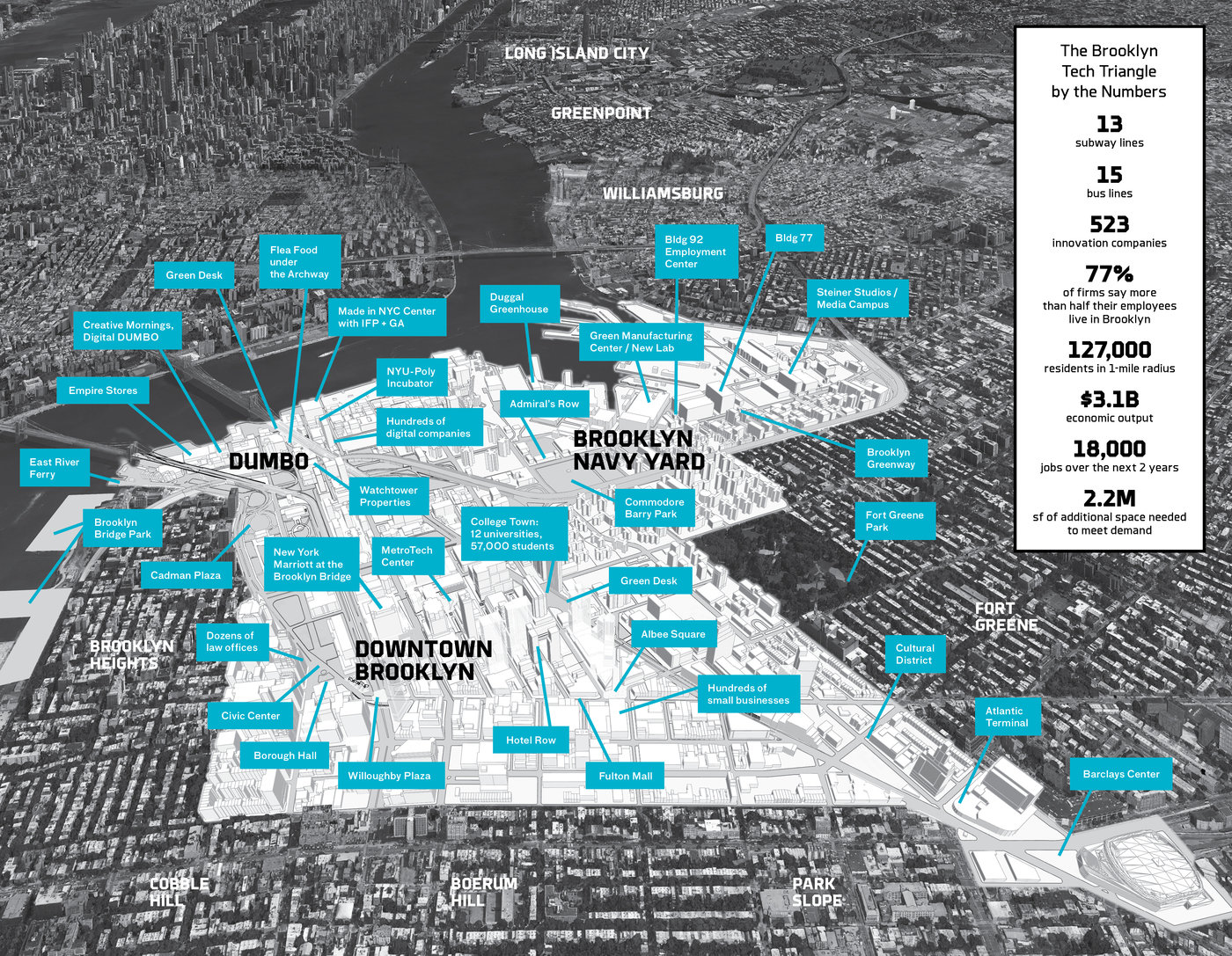 Brooklyn Tech Triangle Plan