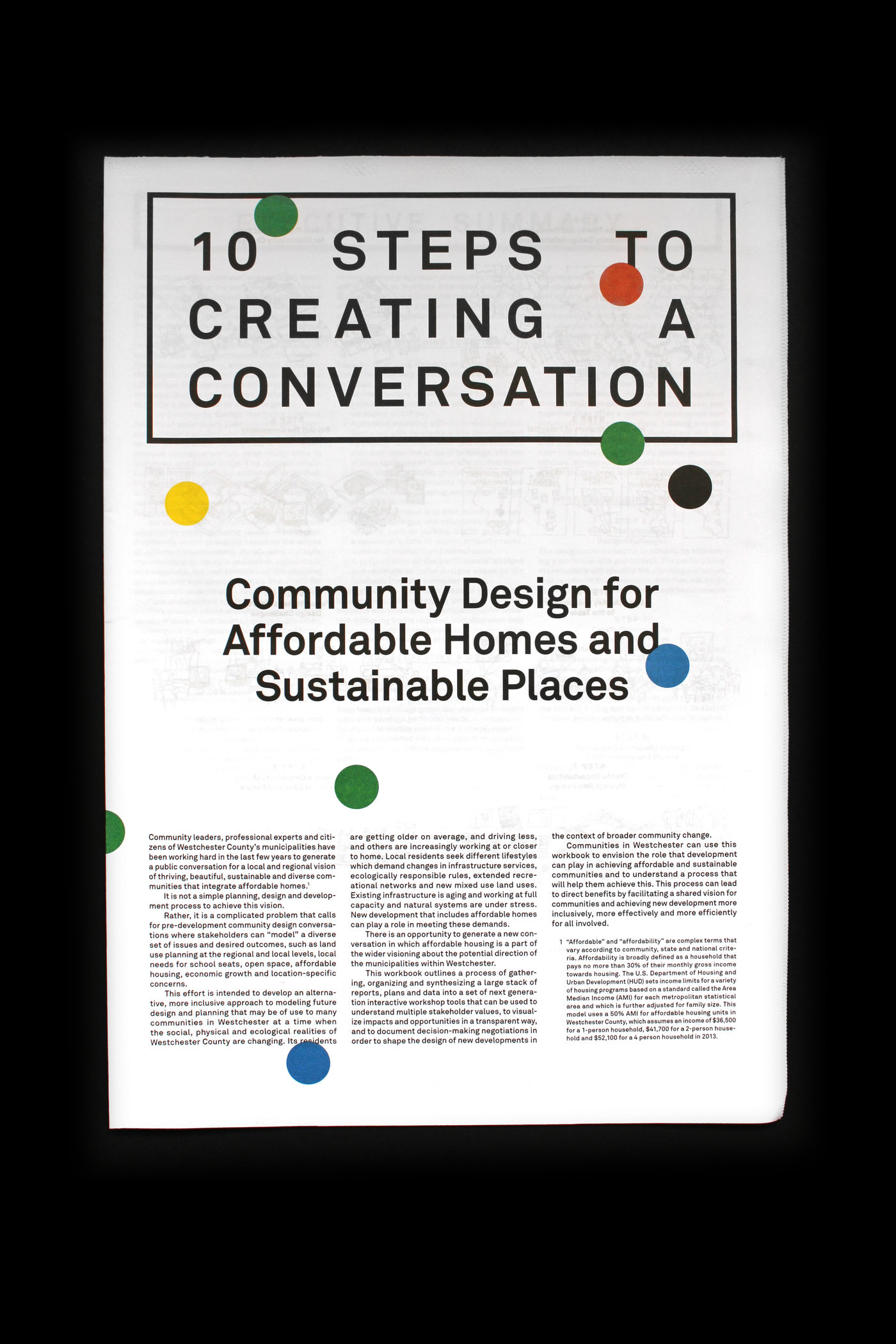 Community Design for Affordable Homes and Sustainable Places