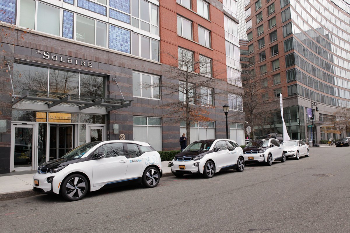BMW Residential Car Share Pilot Program