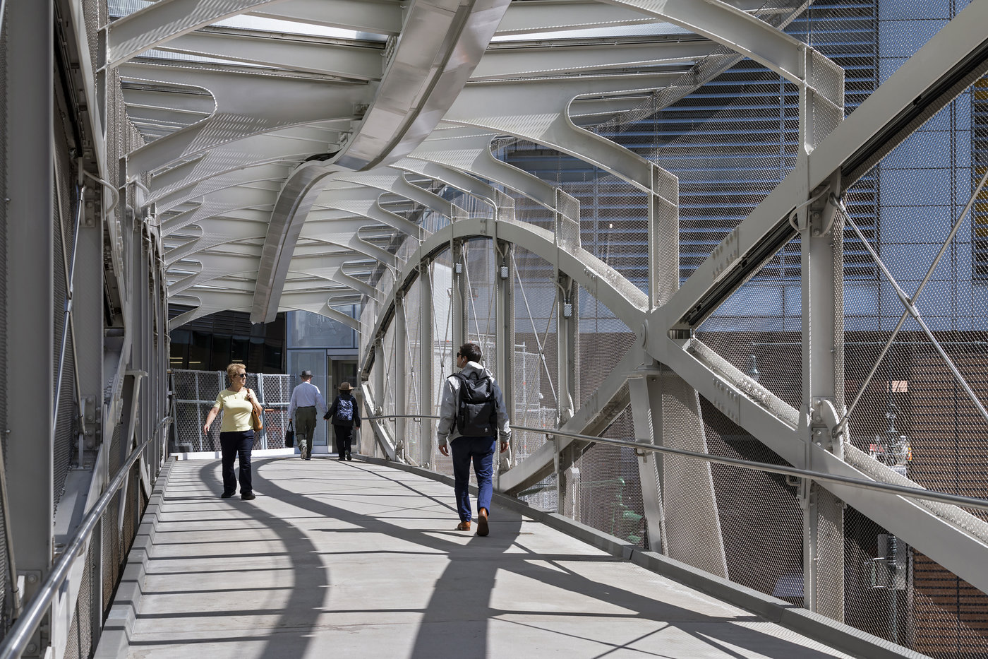 West Thames Pedestrian Bridge