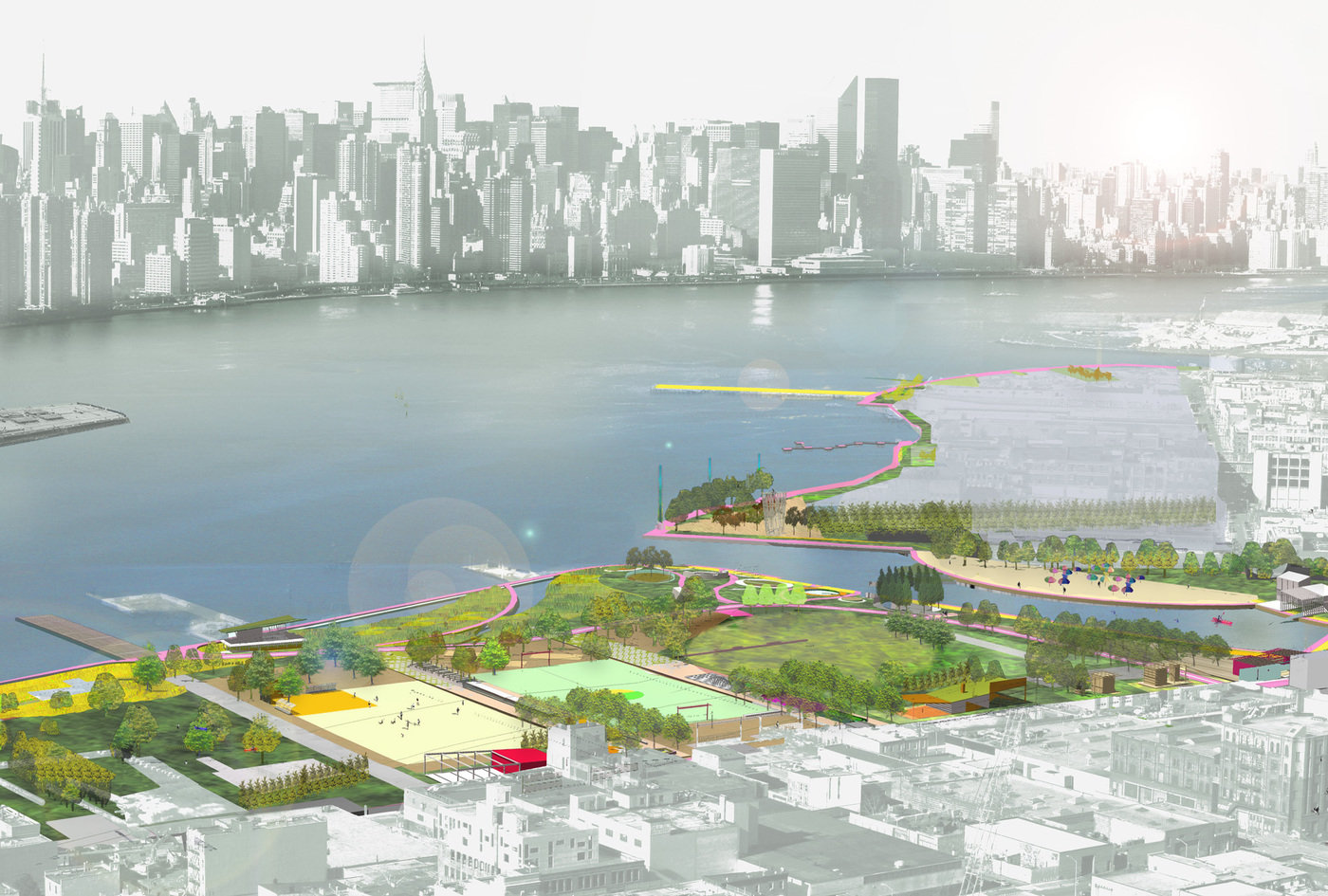 Greenpoint-Williamsburg Waterfront Open Space Master Plan